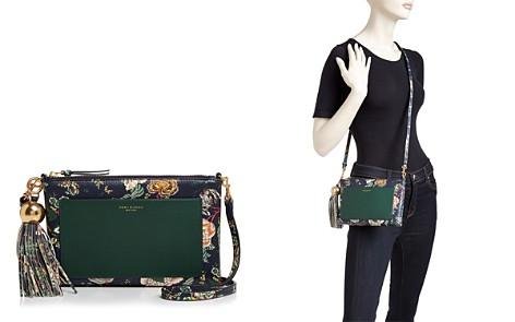 Tory Burch Medium Floral-Print Slim Leather Crossbody - Bloomingdale's_2
