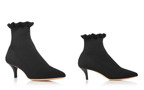 Loeffler Randall Women's Kassidy Pointed Toe Knit Mid Heel Booties - Bloomingdale's_2