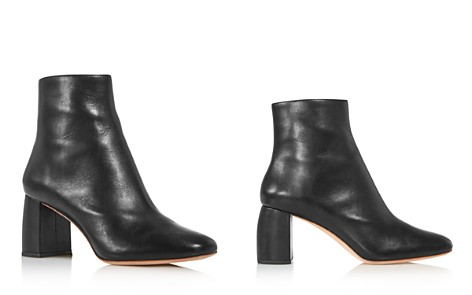 Loeffler Randall Women's Cooper Almond Toe Leather Block High-Heel Booties - Bloomingdale's_2