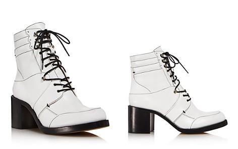 Tabitha Simmons Women's Leo Leather Block-Heel Booties - Bloomingdale's_2