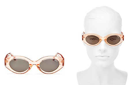 Quay Women's See Me Smile Round Sunglasses, 54mm - Bloomingdale's_2