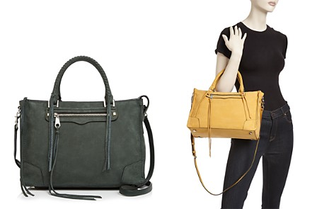 Rebecca Minkoff Regan Nubuck Leather Satchel - Bloomingdale's_2