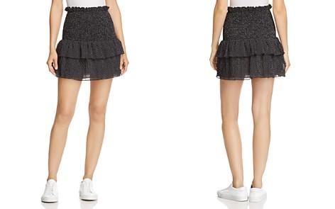 The East Order Smocked Polka Dot Mini Skirt - Bloomingdale's_2