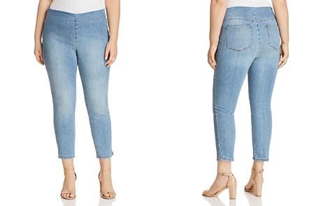 NYDJ Plus Alina Cropped Denim Leggings in Clean Dream - Bloomingdale's_2