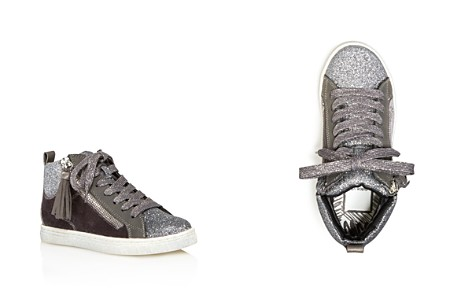 Dolce Vita Girls' Zaila Glitter High Top Sneakers - Little Kid, Big Kid - Bloomingdale's_2