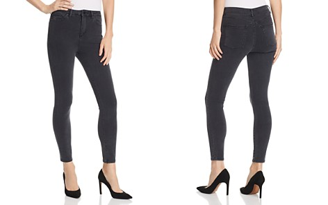 DL1961 Chrissy Ultra High Rise Skinny Jeans in Battle - Bloomingdale's_2
