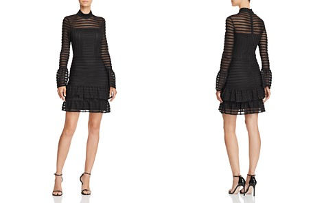 Parker Topanga Bell-Sleeve Textured Dress - Bloomingdale's_2