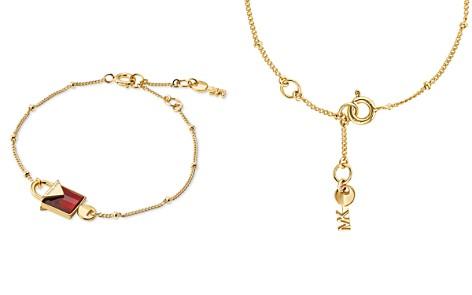 Michael Kors Kors Color Semi-Precious 14K Gold-Plated Sterling Silver Bracelet - Bloomingdale's_2