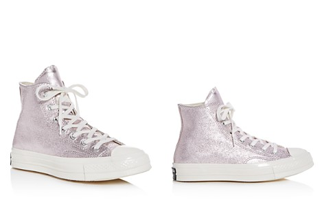 Converse Women's Chuck Taylor All Star 70 Metallic High Top Sneakers - Bloomingdale's_2