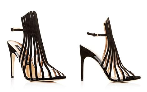 Sergio Rossi Women's Suede Multi-Strap High-Heel Sandals - Bloomingdale's_2