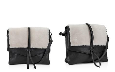 Kooba Yukon Medium Leather & Shearling Crossbody - Bloomingdale's_2