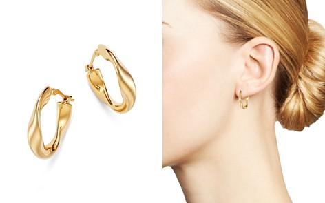 Bloomingdale's Flat Twist Hoop Earrings in 14K Yellow Gold - 100% Exclusive_2