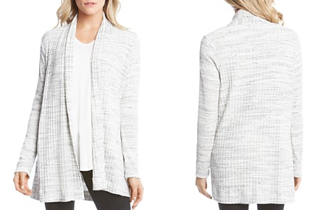 Karen Kane Ribbed Open Cardigan - Bloomingdale's_2