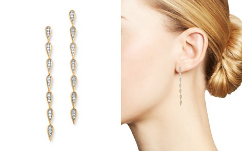 Adina Reyter 14K Yellow Gold Pavé Diamond Teardrop Link Earrings - Bloomingdale's_2