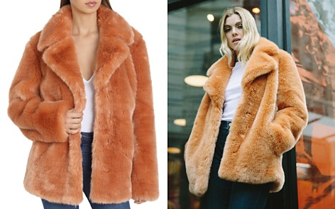 Avec Les Filles Faux Fur Swing Coat - Bloomingdale's_2