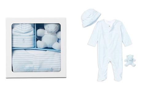 Ralph Lauren Boys' Coverall, Hat & Bear Gift Set - Baby - Bloomingdale's_2