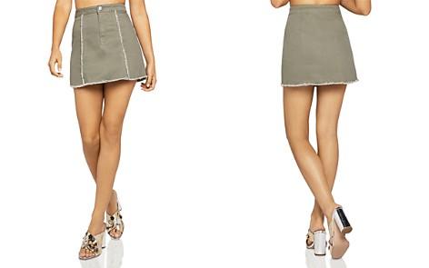 BCBGeneration Frayed Mini Skirt - Bloomingdale's_2