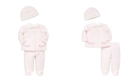 Little Me Girls' Hat, Cardigan & Footie Pants Take Me Home Set - Baby - Bloomingdale's_2