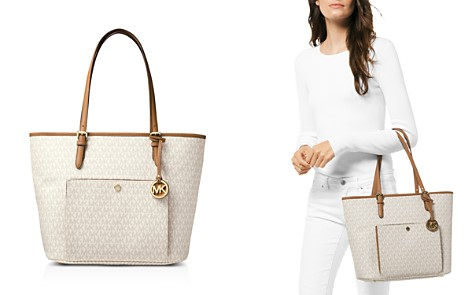 MICHAEL Michael Kors Jet Set Large Snap Pocket Tote - Bloomingdale's_2