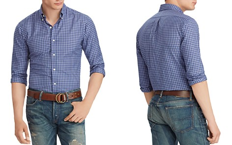 Polo Ralph Lauren Plaid Twill Classic Fit Shirt - Bloomingdale's_2
