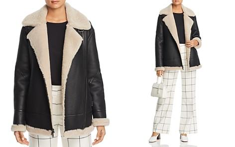 Maximilian Furs Lamb Shearling Aviator Jacket - Bloomingdale's_2