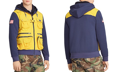 Polo Ralph Lauren Hi Tech Mixed-Media Hoodie - 100% Exclusive - Bloomingdale's_2