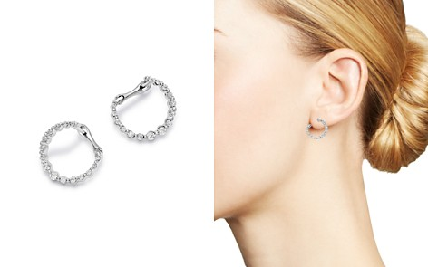 Bloomingdale's Diamond Front-to-Back Circle Earrings in 14K White Gold, 0.33 ct. t.w. - 100% Exclusive_2