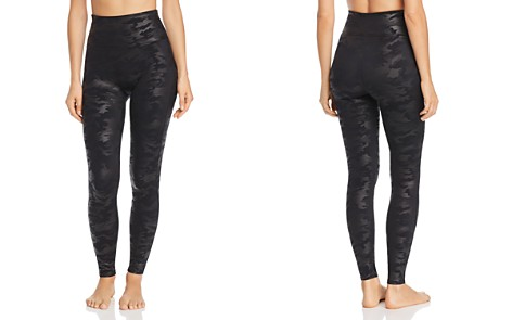 SPANX® Faux Leather Camo Leggings - Bloomingdale's_2