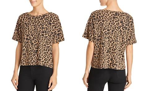 LNA Leopard Print Boxy Tee - Bloomingdale's_2