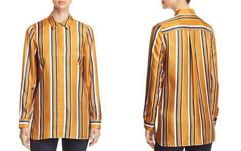 Lafayette 148 New York Barry Striped Silk Blouse - Bloomingdale's_2