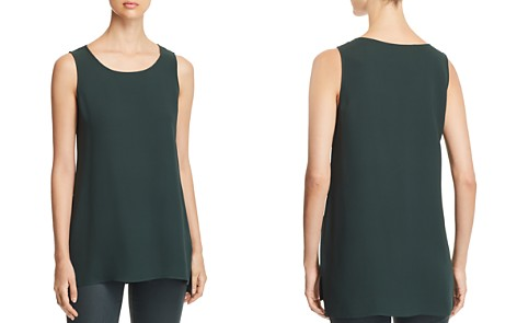Lafayette 148 New York Silk High/Low Tunic Top - Bloomingdale's_2