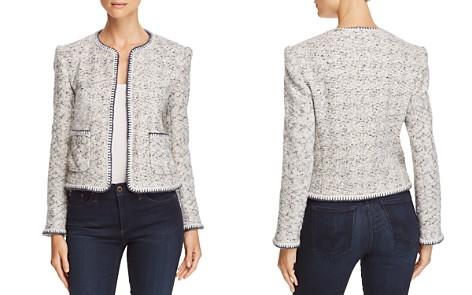Rebecca Taylor Speckled-Tweed Jacket - Bloomingdale's_2