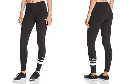 PUMA Athletic Logo Leggings - Bloomingdale's_2