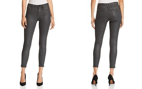 FRAME Le High Skinny Jeans in Stone Coated - Bloomingdale's_2