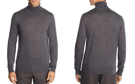 The Men's Store at Bloomingdale's Merino Wool Turtleneck Sweater - 100% Exclusive_2