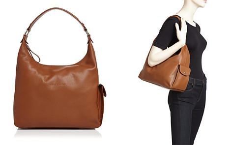 Longchamp Le Foulonne Medium Leather Hobo - Bloomingdale's_2