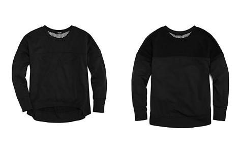 Terez Girls' Contrast Mesh Sweatshirt - Big Kid - Bloomingdale's_2