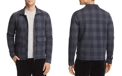 Ted Baker Chekie Jersey Trucker Jacket - 100% Exclusive - Bloomingdale's_2