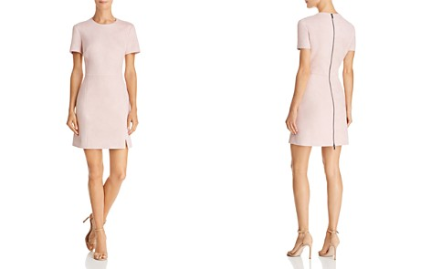 FRENCH CONNECTION Faux Suede A-Line Dress - Bloomingdale's_2