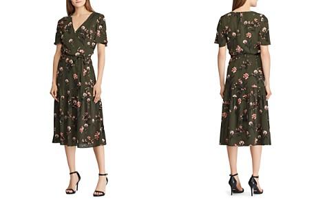 Lauren Ralph Lauren Floral Crepe Dress - Bloomingdale's_2