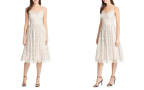 Eliza J Gathered Lace Dress - Bloomingdale's_2