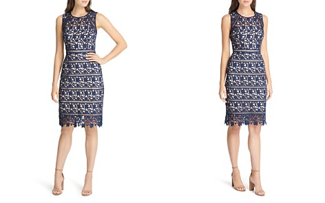 Eliza J Lace Sheath Dress - Bloomingdale's_2