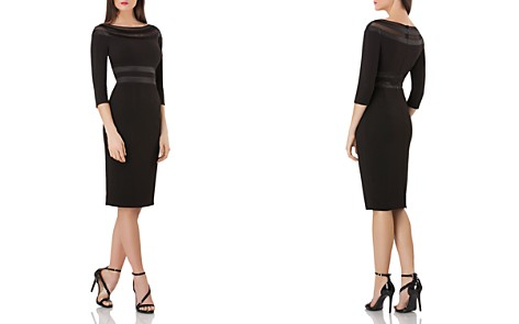 JS Collections Satin-Detail Dress - Bloomingdale's_2