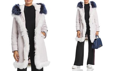 Maximilian Furs Rabbit Fur-Lined Parka with Lamb Shearling & Fox Fur Trim - 100% Exclusive - Bloomingdale's_2
