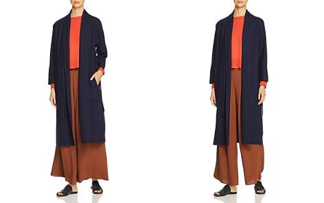 Eileen Fisher Wool Duster Wrap Cardigan - Bloomingdale's_2