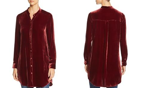 Eileen Fisher Velvet Tunic Top - Bloomingdale's_2