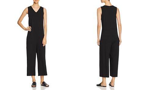 Eileen Fisher Petites Sleeveless Wide-Leg Jumpsuit - Bloomingdale's_2