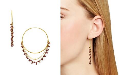 Chan Luu Stone Cluster Layered Hoop Earrings - Bloomingdale's_2