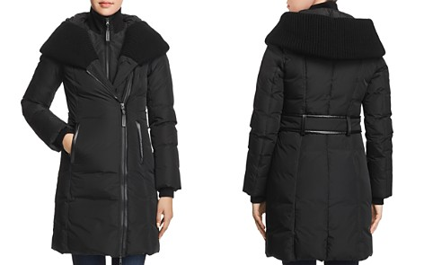 Mackage Brigid Knit Trim Down Coat - Bloomingdale's_2