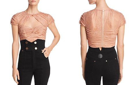 Alice McCall Sweetly Lace Crop Top - Bloomingdale's_2